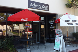 achiote mexican grill pet friendly huntington beach restaurants, dog friendly restaurant in huntington beach, achiote mexican grill